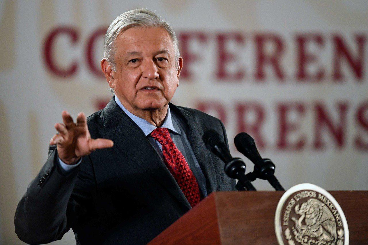 墨西哥總統羅培茲。 (法新社)