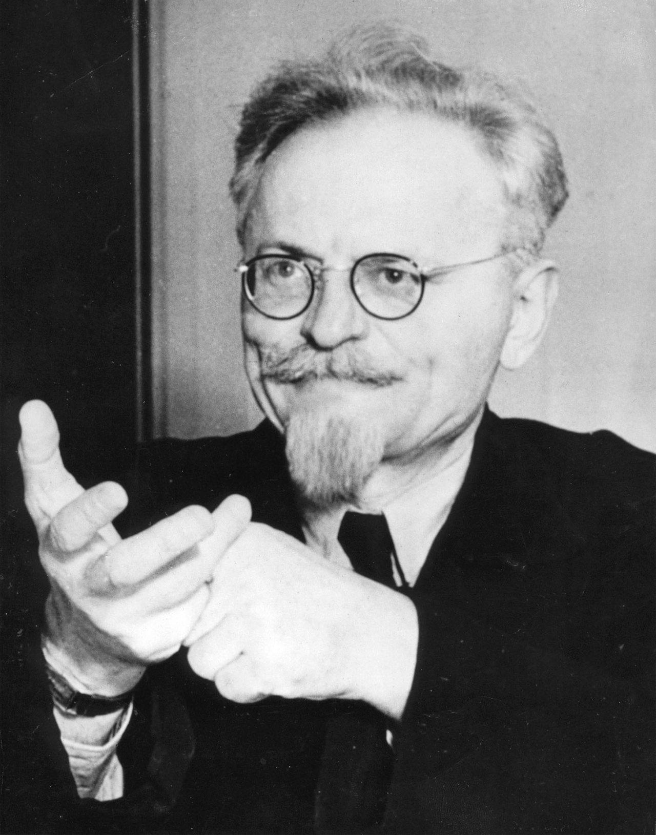 蘇聯革命家托洛斯基1940年的資料照。 (美聯社)