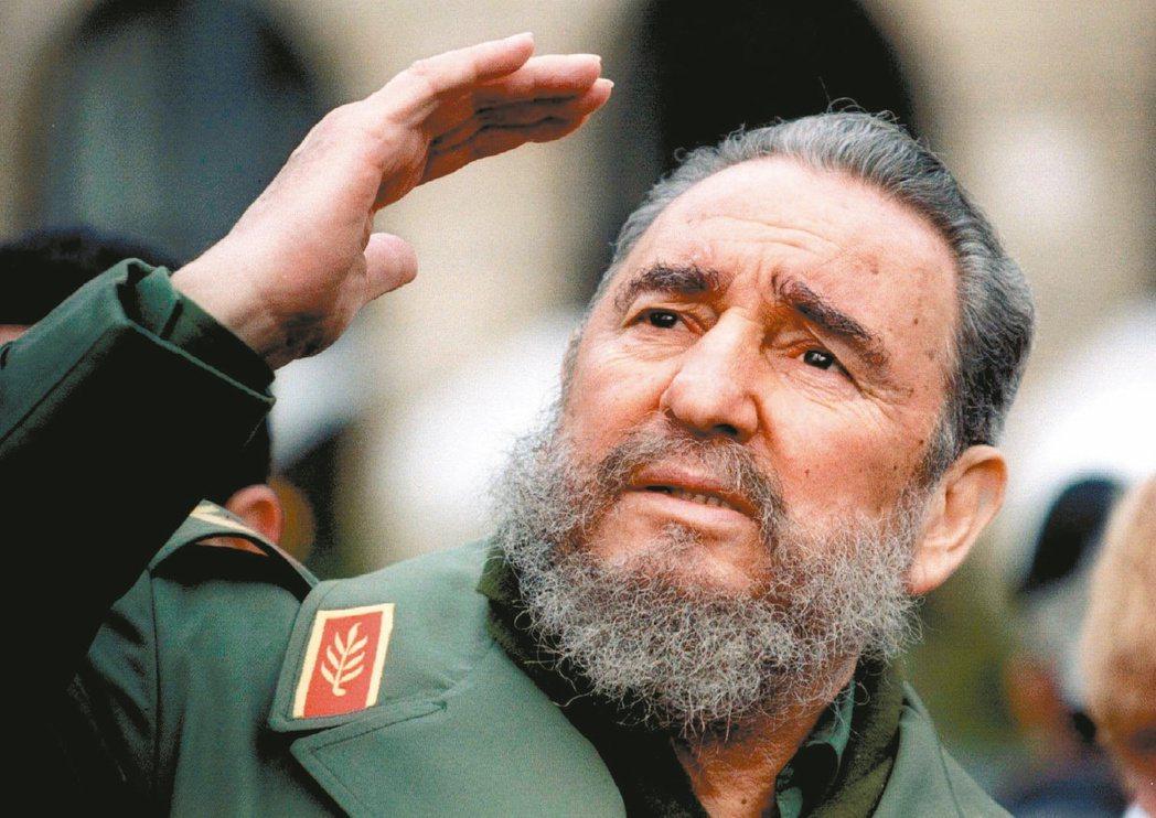 已故古巴領導人卡斯楚曾流亡墨西哥。 (路透)