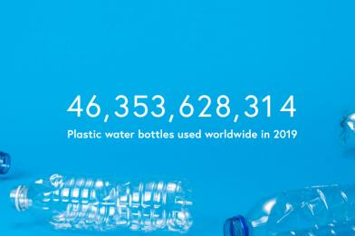 全球寶特瓶的使用數量不斷地上升。 圖/Tap