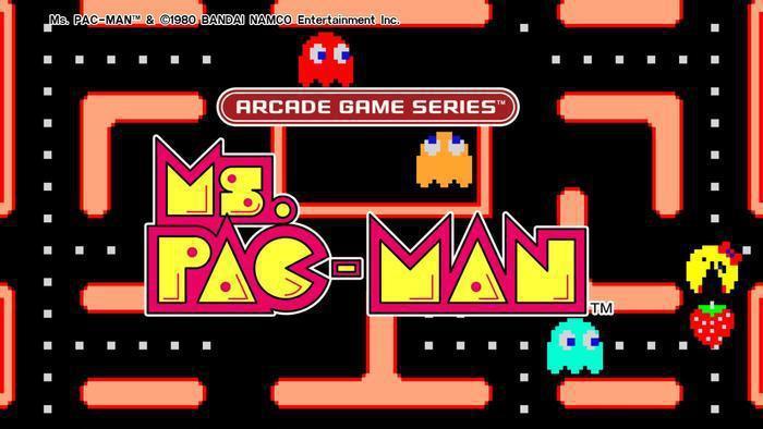 《小精靈小姐》(Ms. Pac-Man)