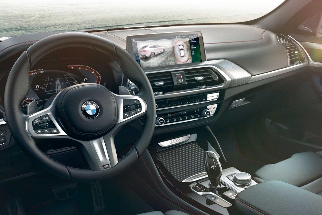2020年式全新BMW X3、X4升級搭載360度環景輔助攝影與遠端3D監控,讓...