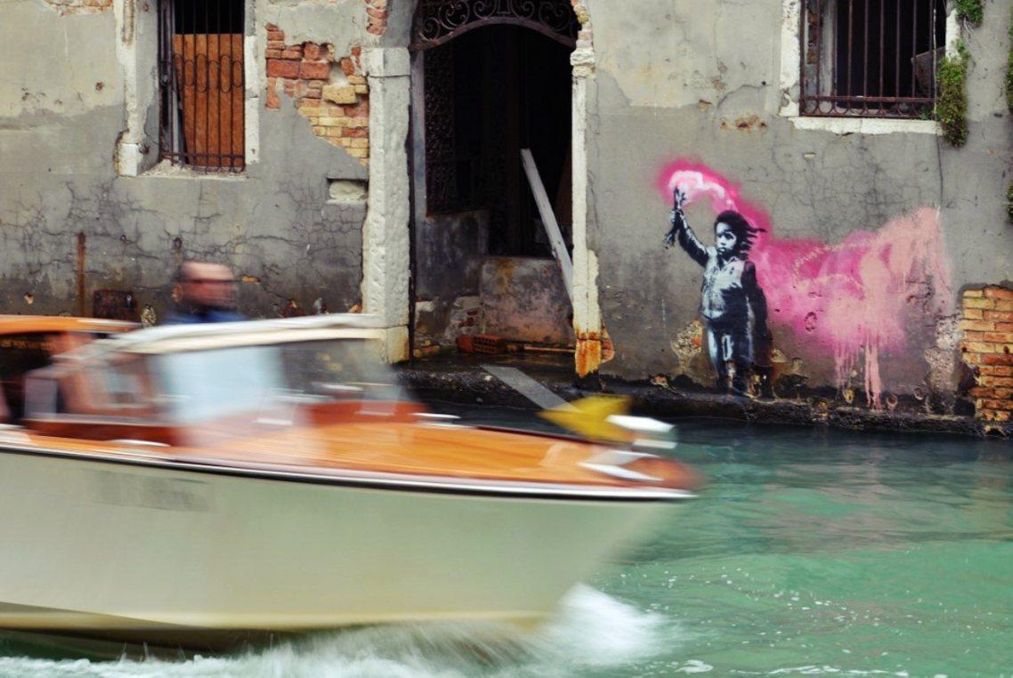 在全球暖化衝擊下,摩西計畫能否真的拯救水都?恐怕沒有威尼斯人有把握。 圖/法新社
