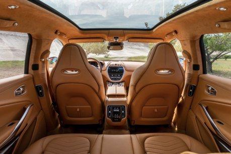 Aston Martin DBX SUV內裝照曝光!售價比賓利休旅還貴