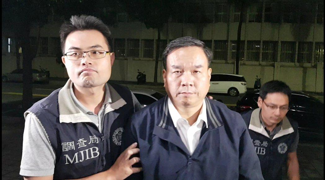 國體大校長邱炳坤涉圖利遭檢調約談。記者張宏業/攝影