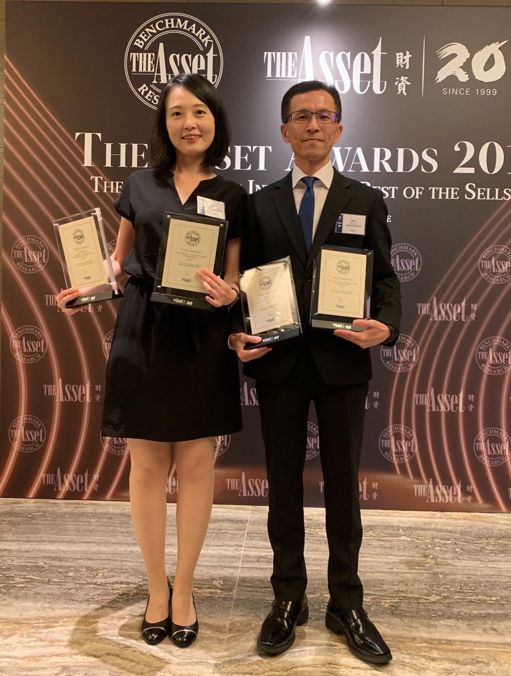 元大證券再奪《財資》Benchmark Awards「台灣最佳公司債發行主辦機構...