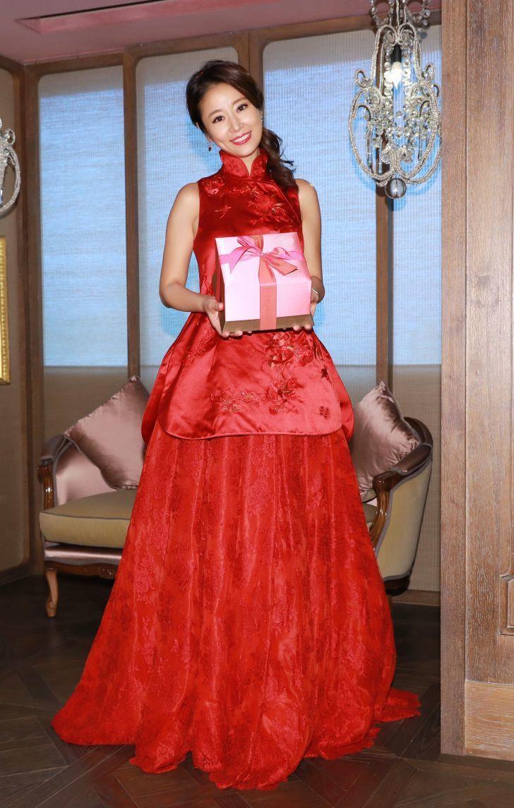 林心如結婚時也選穿夏姿訂製禮服。圖/夏姿提供