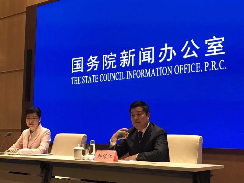 中共中央黨校經濟學教研部主任韓保江。記者呂佳蓉/攝影