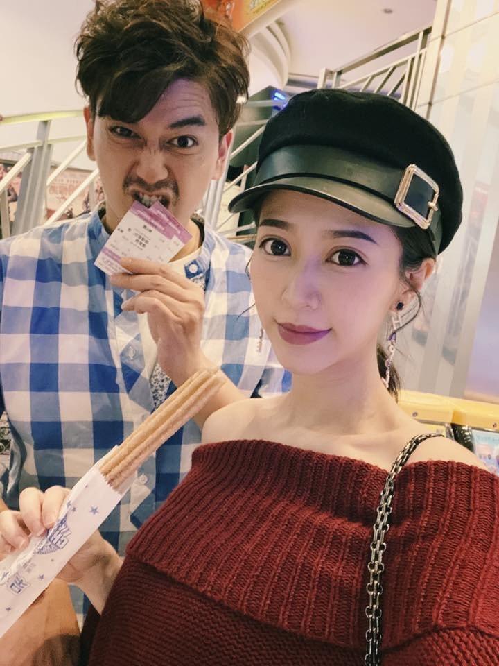 潘逸安和老婆 Vivian感情超甜蜜。圖/摘自臉書