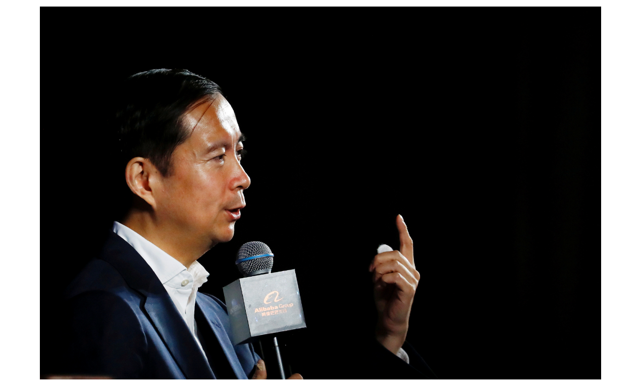 阿里巴巴將重登港股,集團董事局主席張勇稱,依然相信香港的美好未來。(路透)