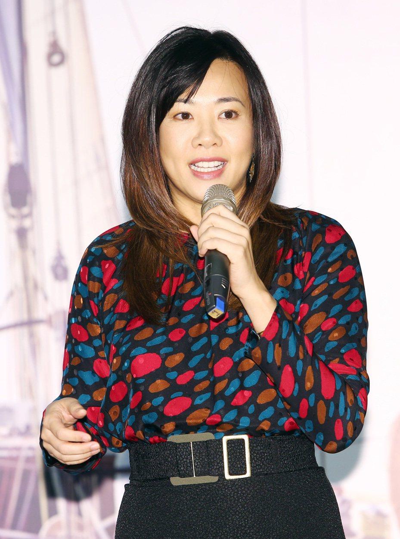 新光吳家大公主、新壽副總經理吳欣盈。圖/報系資料照片