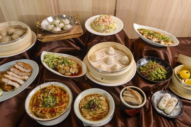 漢來上海湯包以均消400-450元左右的價格帶,並有單點及套餐的多樣化的品項選擇。(照片提供:漢來美食)