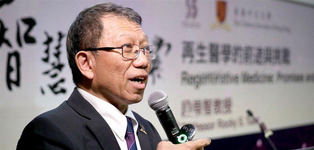 香港中文大學校長段崇智。(段崇智網頁)