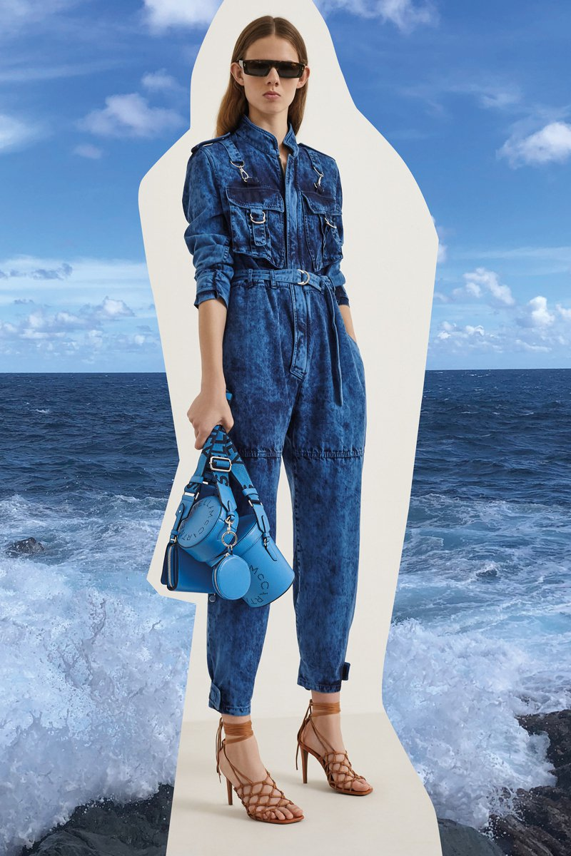 Stella McCartney在2020春夏以服裝來投射一個關心地球的女性形象。圖/Stella McCartney提供