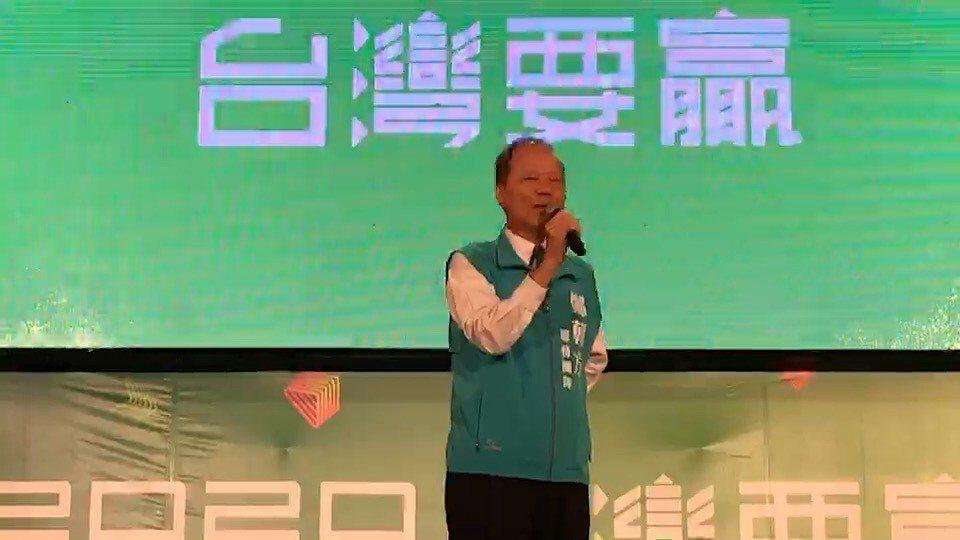 前縣長鄭永金今天也到場,並上台致詞。記者陳斯穎/攝影