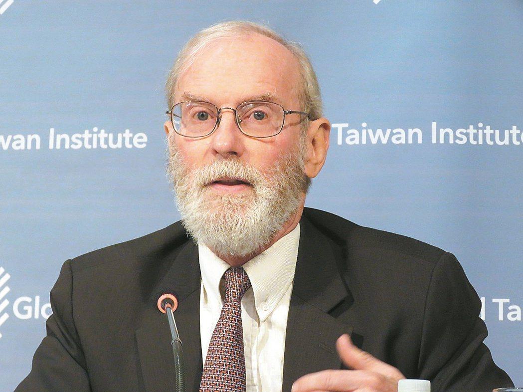 美國在台協會(AIT)台北辦事處前處長楊甦棣。聯合報系資料照片