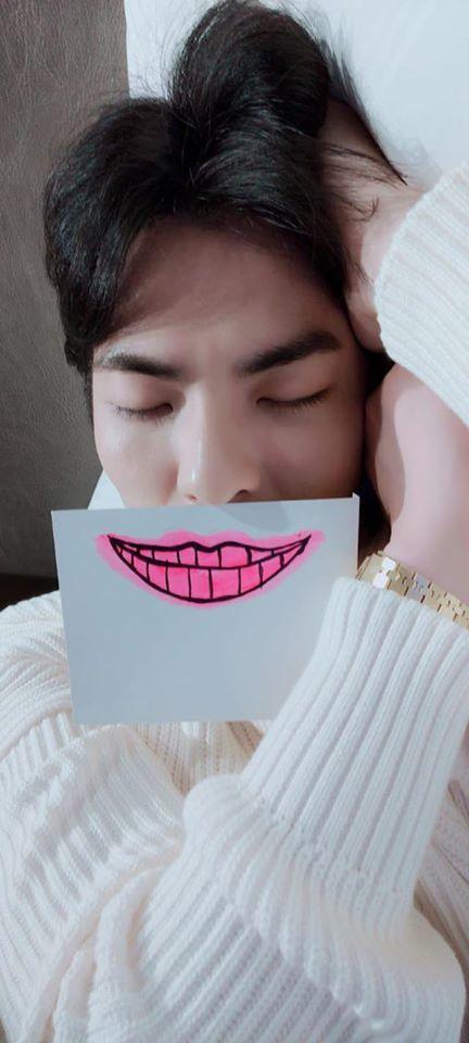 蕭敬騰讚聲應援「微笑點點名」· 傳遞微笑正能量。圖/喜鵲娛樂提供