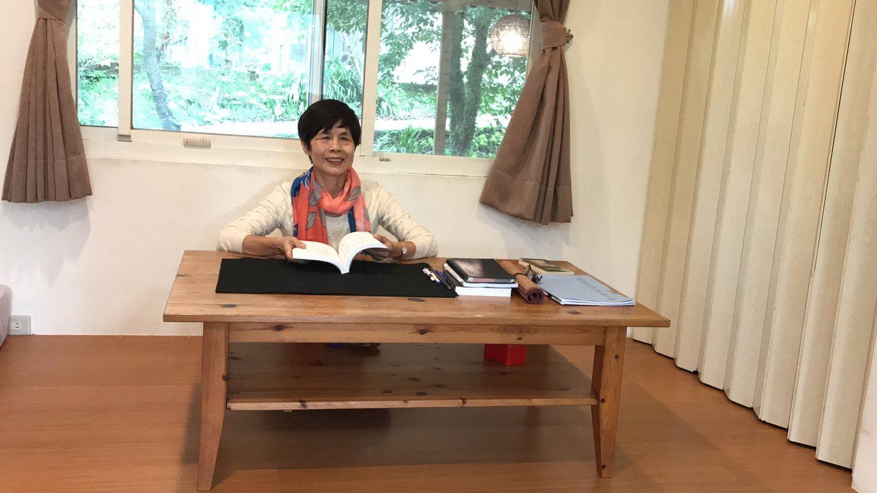 山上小屋書房,是林月慎寫作的地方。 圖/吳淑君攝影