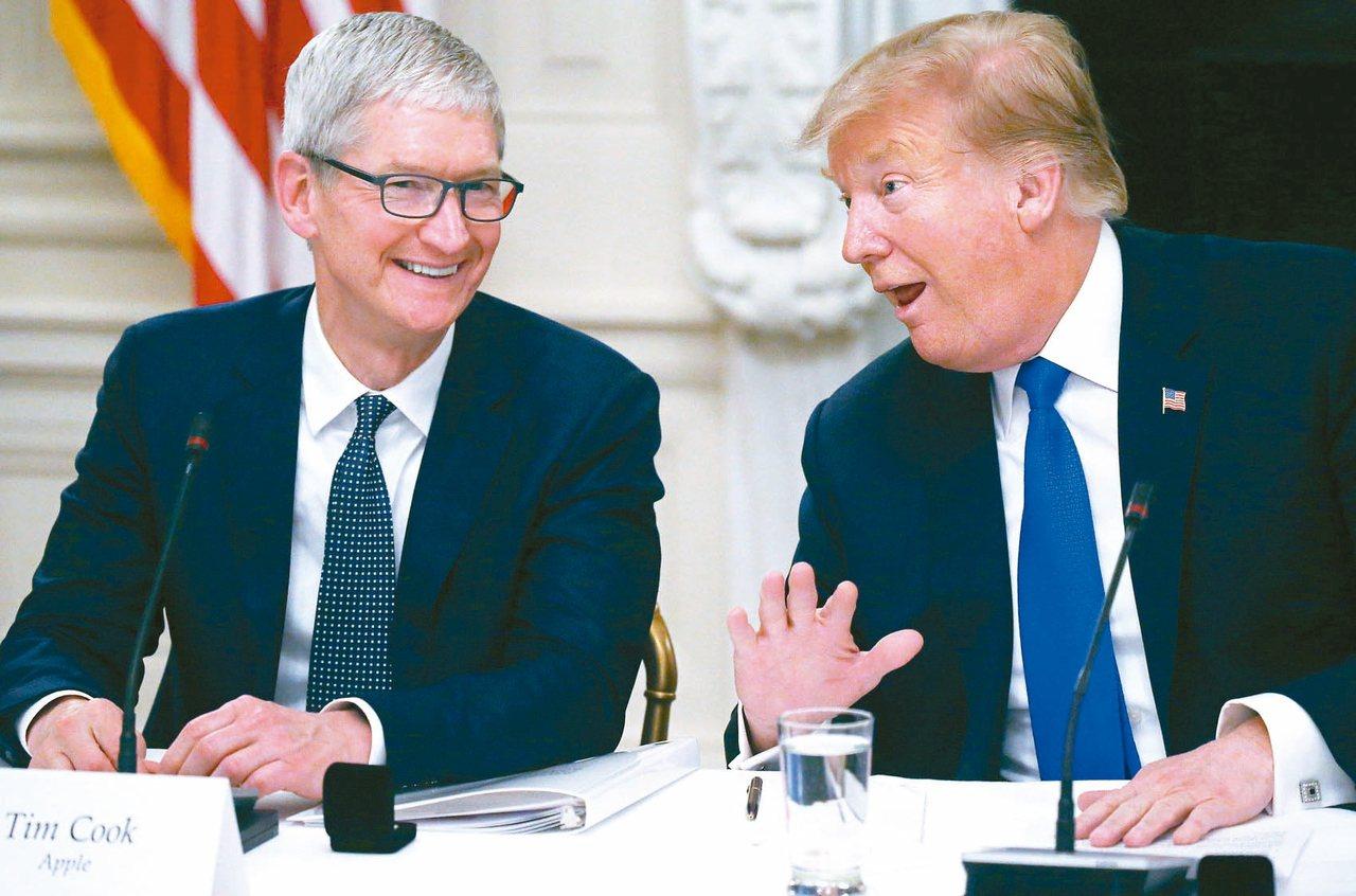 蘋果已雇用美國總統川普最親近盟友幫忙遊說,以免美中談判破局後被加徵另一輪關稅。 ...