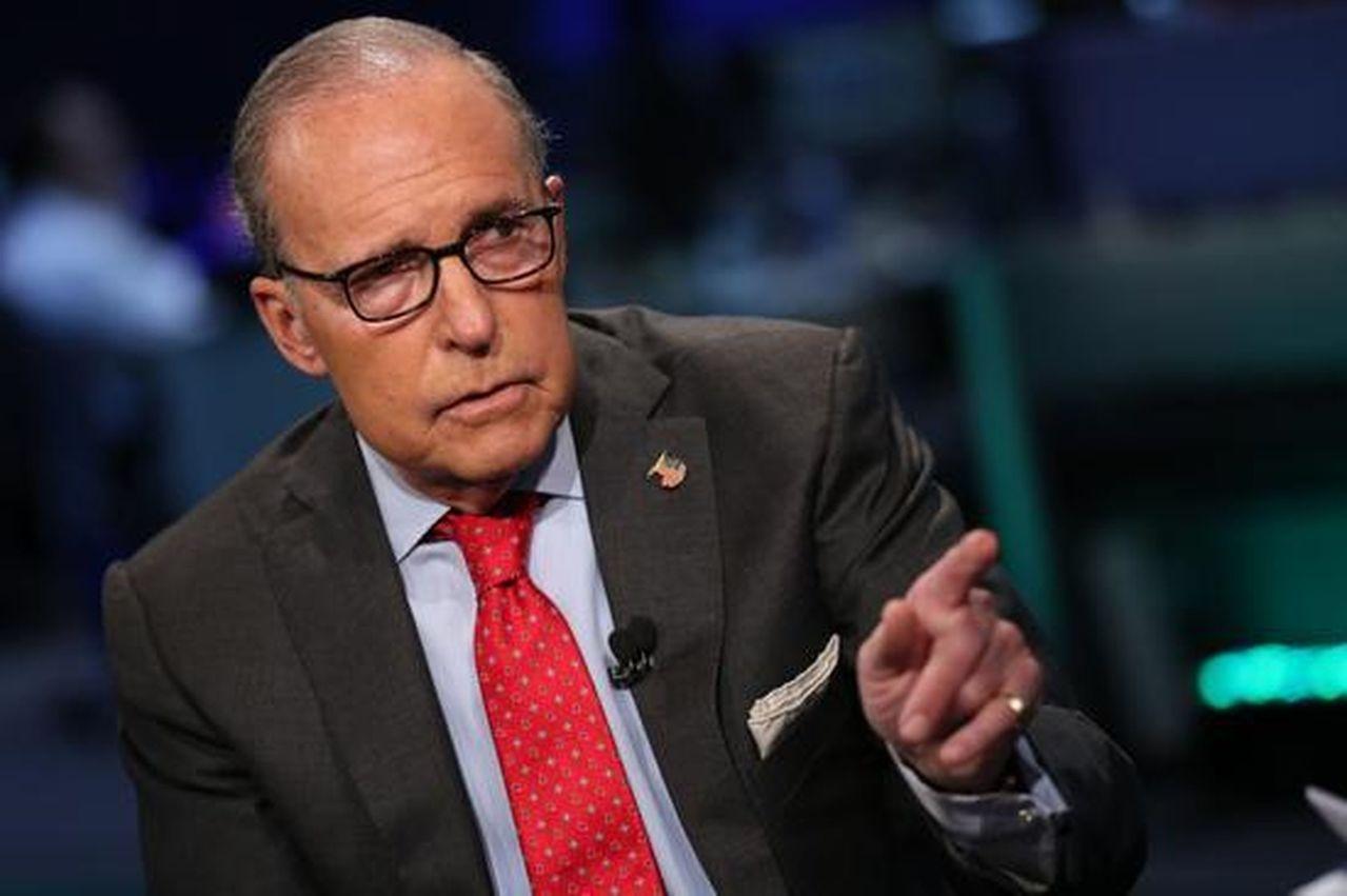 美國白宮經濟顧問庫德洛近日對貿談樂觀訊息。路透社