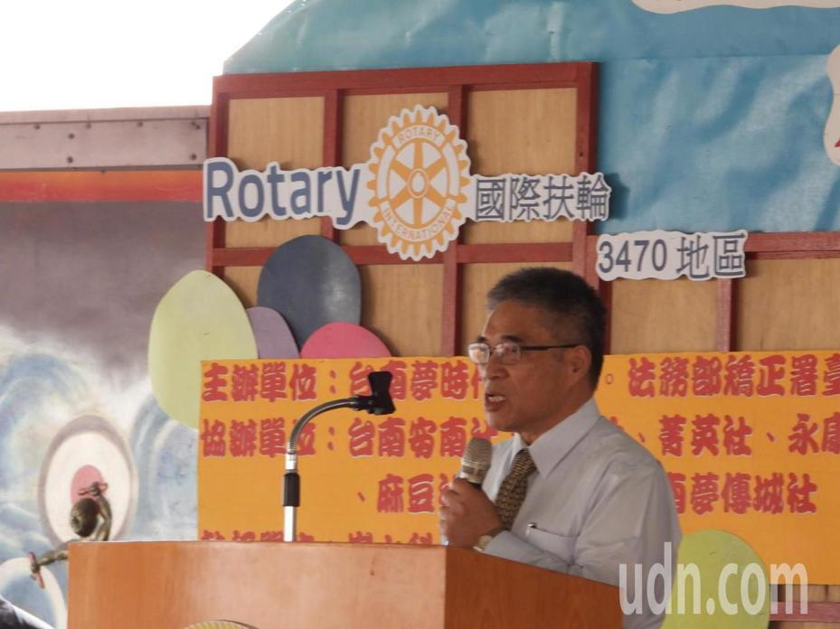 台南監獄開辦多媒體製作實務研習班,助收容人順利就業。記者周宗禎/攝影