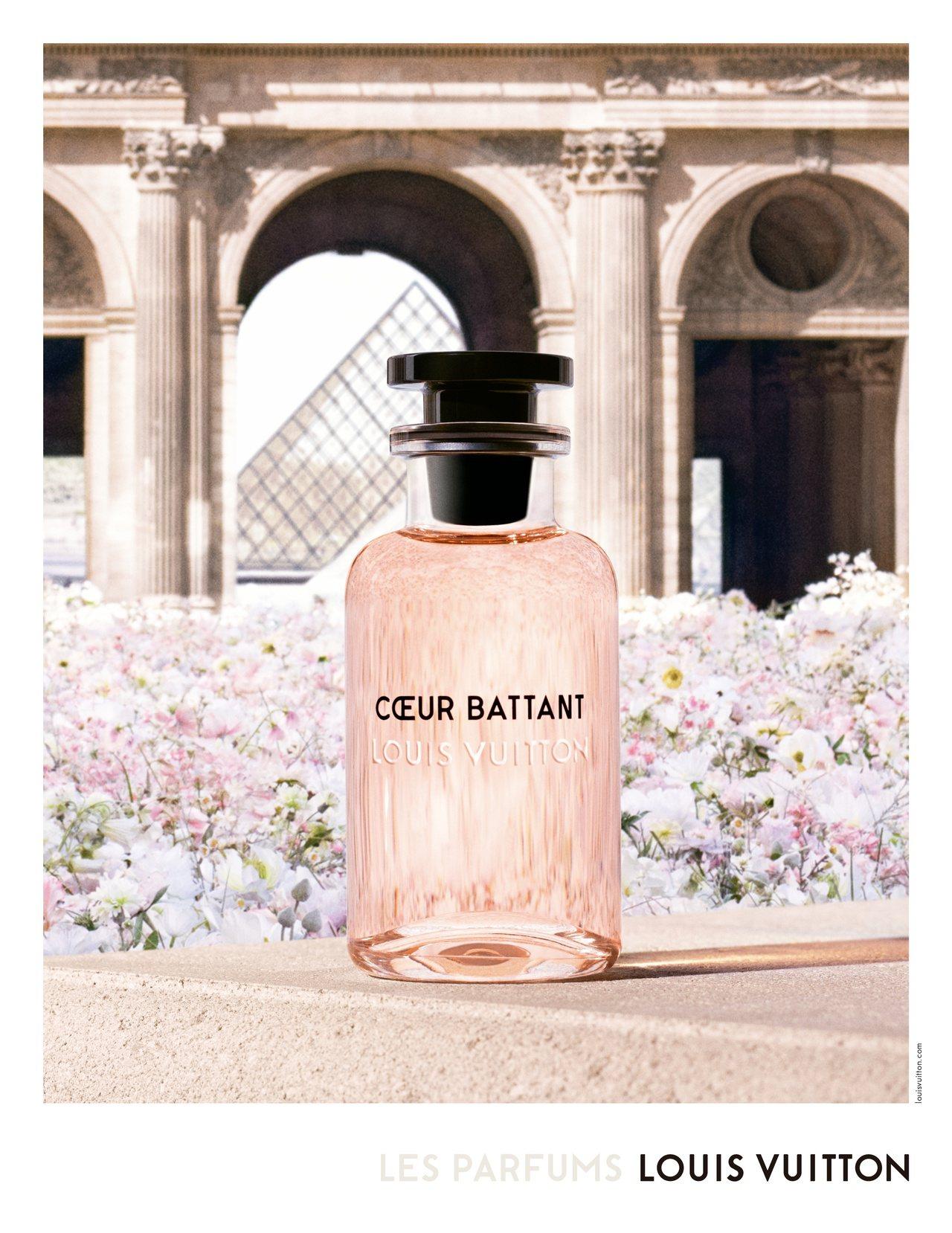 路易威登香水形象廣告以2019年秋季釋出的新香Cœur Battant為主視覺。...