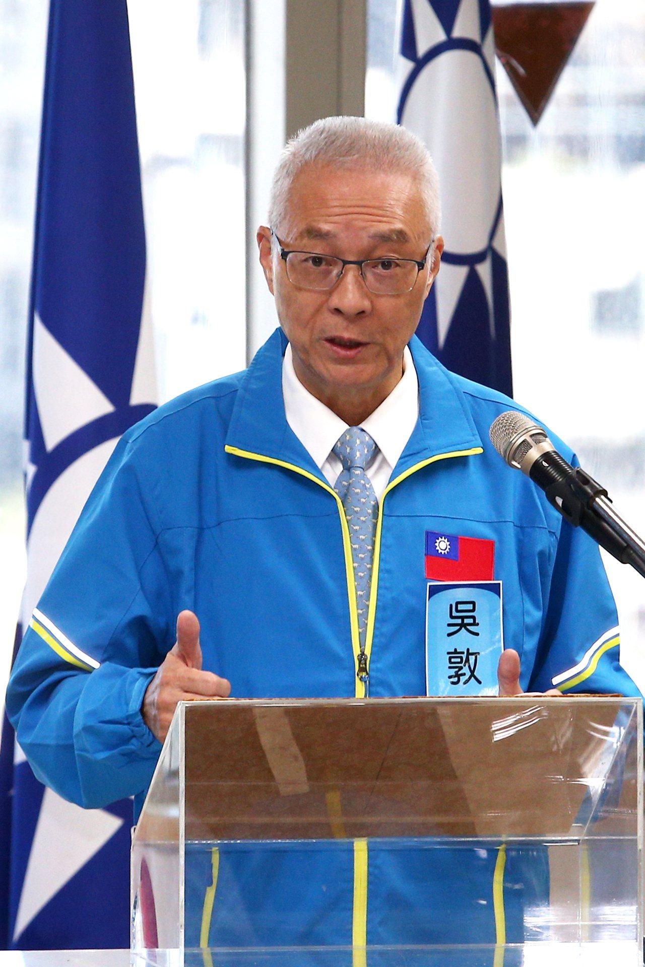 國民黨黨主席吳敦義上午主持不分區立委提名名單行使同意權投票,僅排名第17的張顯耀...