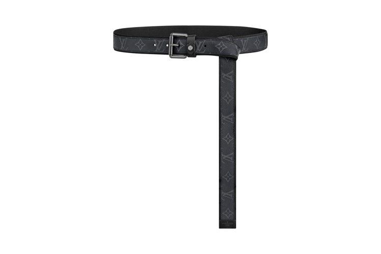路易威登系窄版特長皮帶,售價23,900元。圖/LV提供