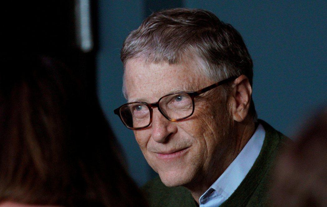 微軟創辦人比爾蓋茲。 路透