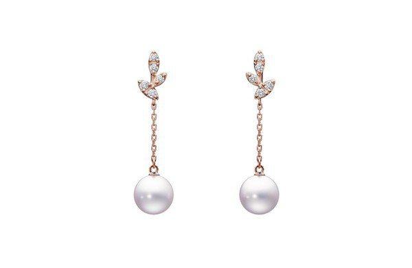 林志玲款式TASKI Kugel珍珠耳環,售價51,000元。圖/取自品牌官網