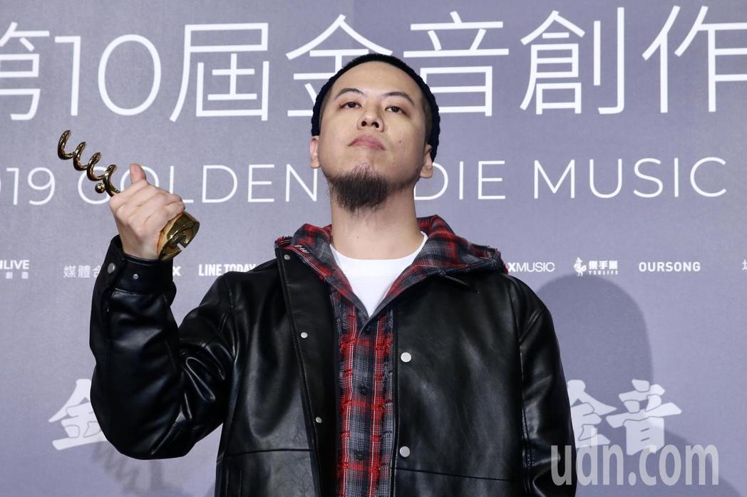 第十屆金音創作獎頒獎典禮在國父紀念館舉行,最佳嘻哈單曲獎由國蛋《嘻哈囝》獲獎。記