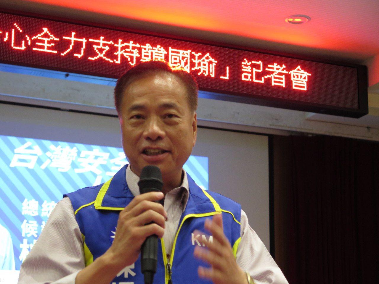 國民黨在第一選區提名陳根德回鍋參選,但詹江村有意參選,恐分裂藍營。圖/本報資料照
