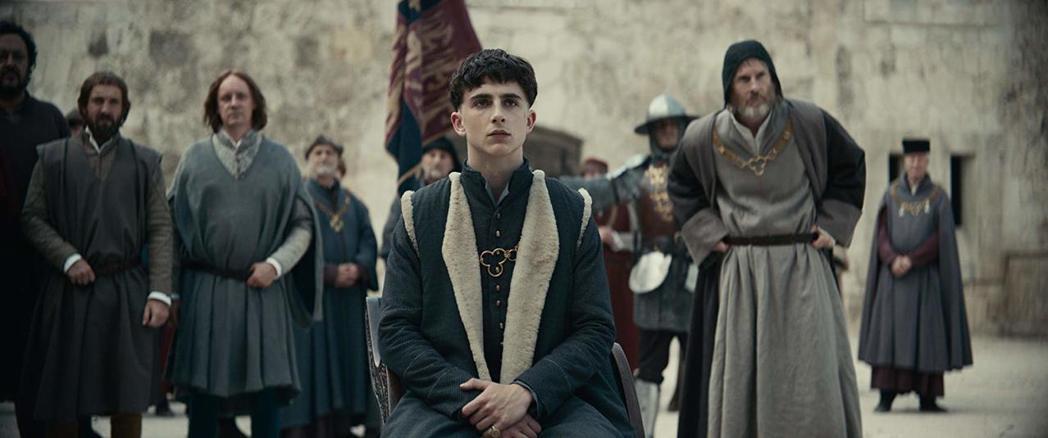 提摩西夏勒梅近年來當紅搶手,片約不斷,Netflix新片「國王」也由他主演。圖/...