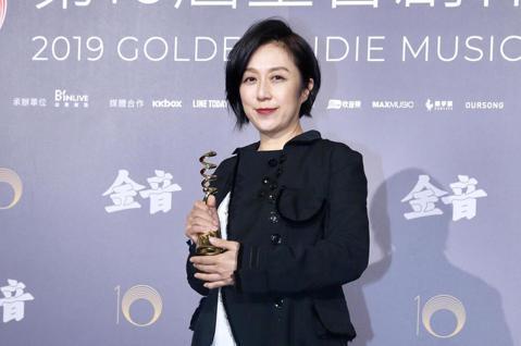 第十屆金音創作獎頒獎典禮在國父紀念館舉行,特別貢獻獎由黃韻玲獲獎。