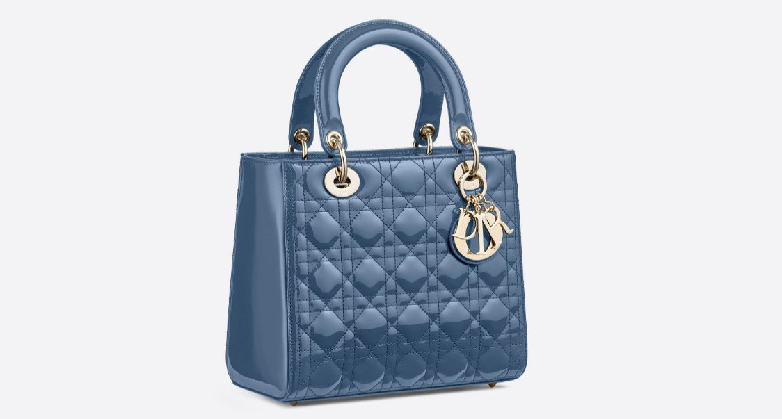 DIOR Lady Dior包款,價格店洽。圖/取自官網