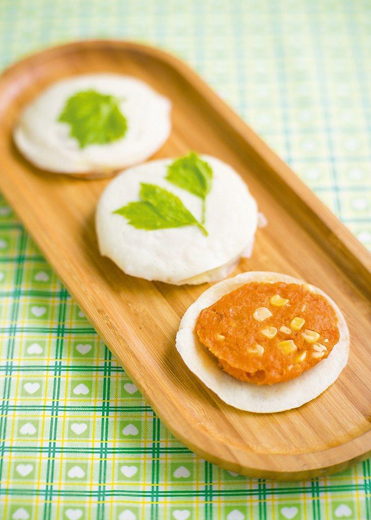 南瓜玉米煎餅 圖/摘自橘子文化出版《懷舊糕餅4》
