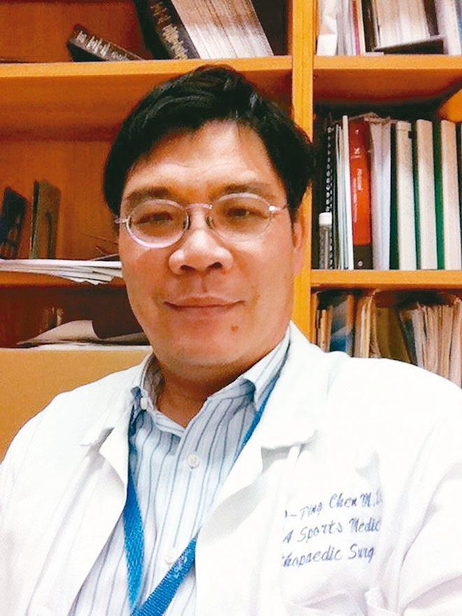 陳超平台中榮總骨科部運動醫學科主任 圖╱陳超平提供