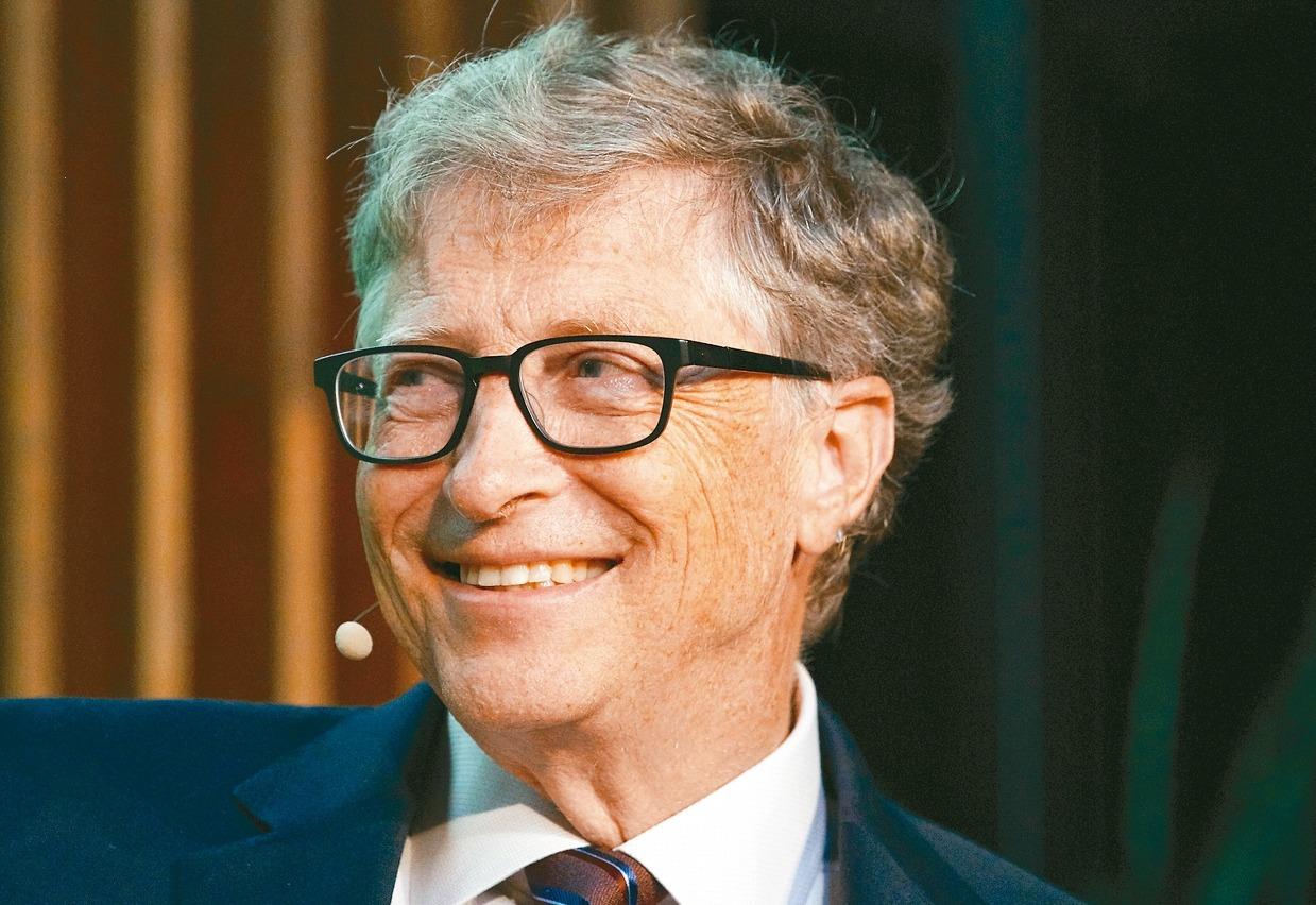 微軟公司共同創辦人蓋茲。 (美聯社)