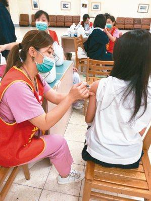 校園公費流感疫苗接種率約七成,專家認為今年情況特殊,需提升至八成以上,才能平安度...