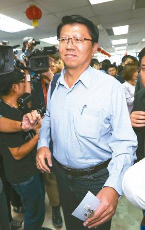 國民黨不分區名單排第十五名的謝龍介,明年揚言選黨主席。 記者蘇健忠/攝影