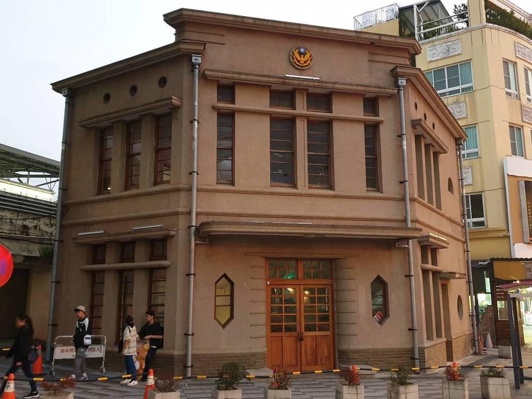 頂街派出所舊址建物為台中市政府歷史建築,位在人來人往的豐原火車站旁,行經旅客不經...