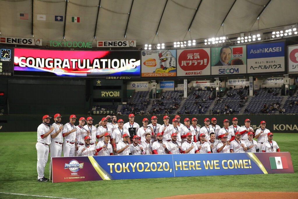 墨西哥奪下2020東京奧運門票,目前東京奧運4席確定,最後2張門票將在明年美洲區...