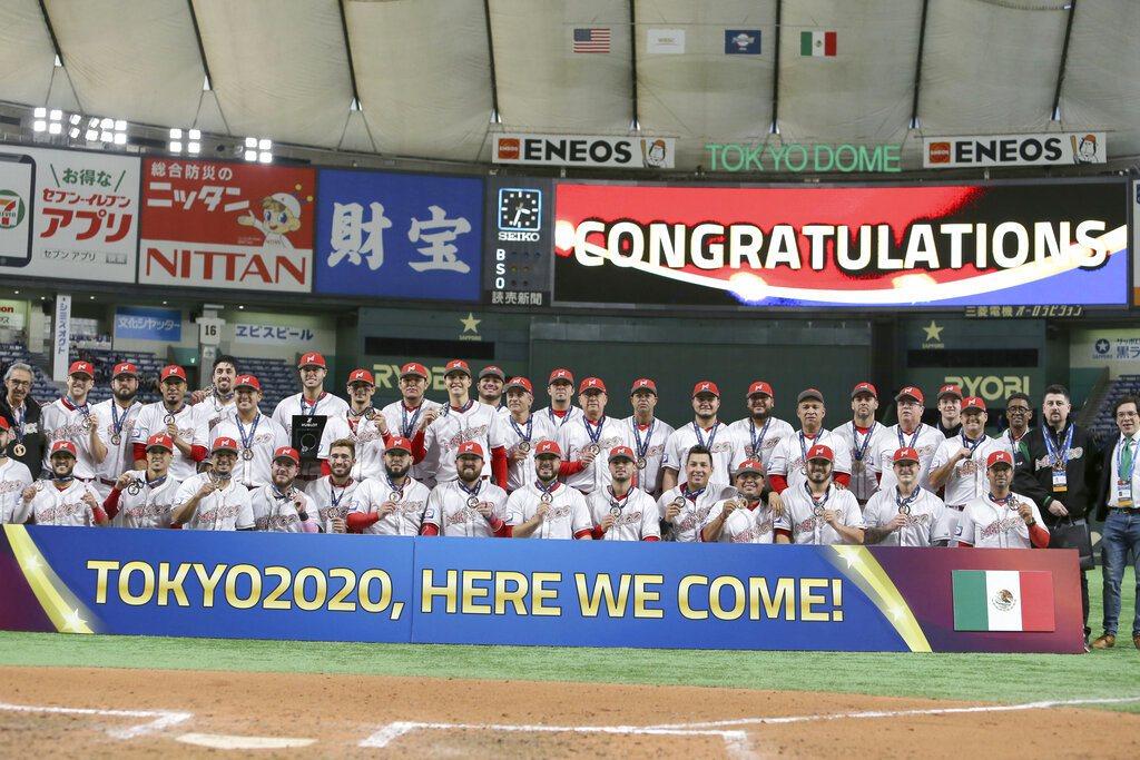 墨西哥搶下隊史第一張奧運棒球門票。 美聯社
