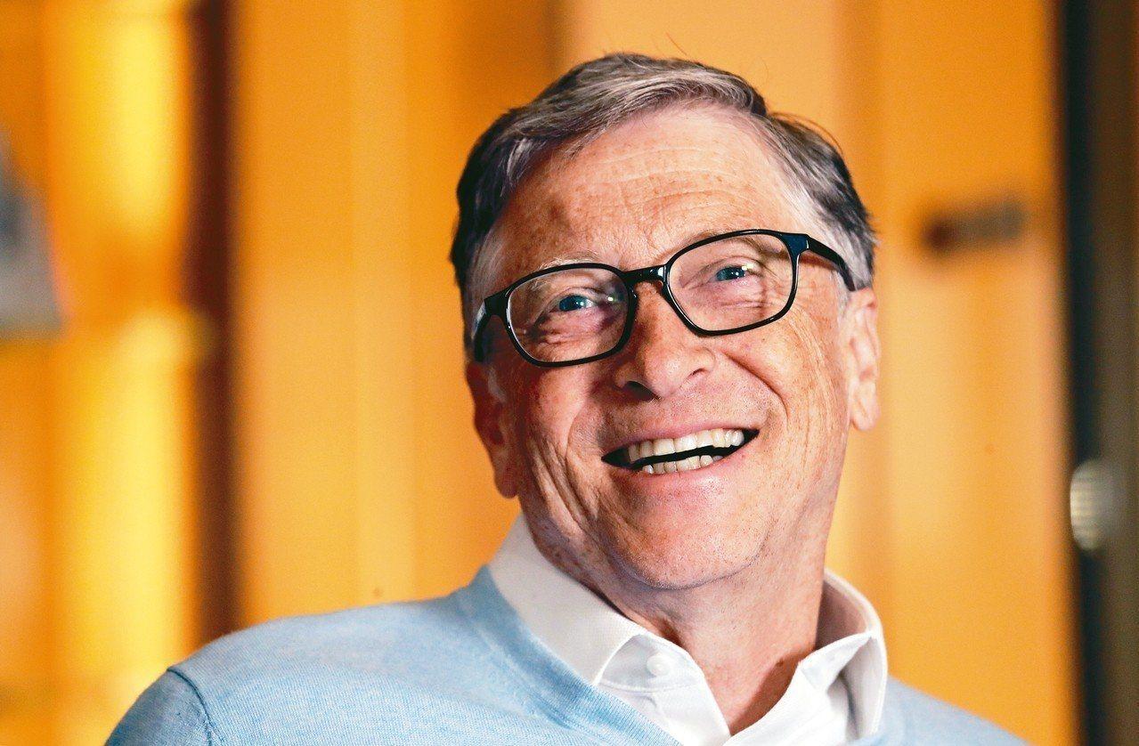 微軟共同創辦人比爾蓋茲(圖)擠下亞馬遜執行長貝佐斯,重新成為世界首富。美聯社
