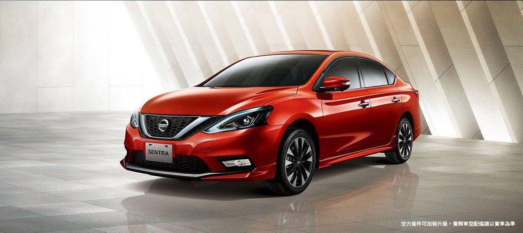 2020年式Nissan Sentra,空力套件也可額外選購。 圖/Nissan...