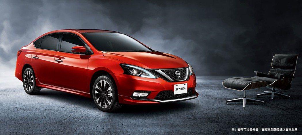 2020年式Nissan Sentra。 圖/Nissan提供