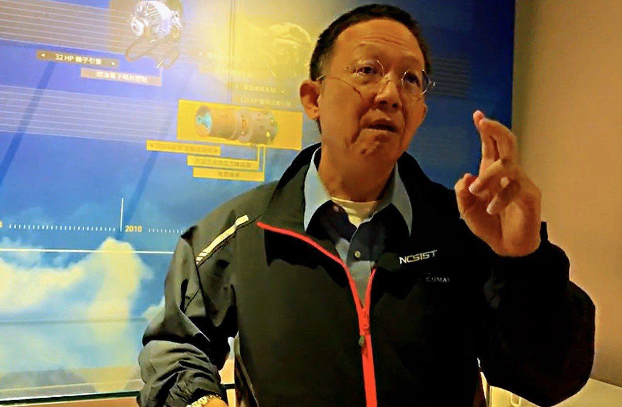 中科院長杲中興日前受訪也證稱,當年他率領團隊研發「鯤鵬引擎」,關鍵零件使用美方提...