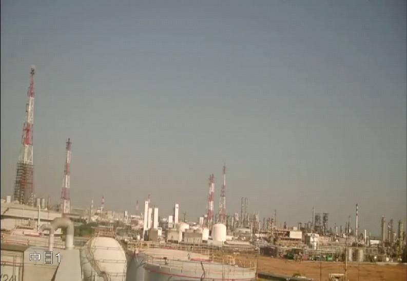 環保局17日上午監測,燃燒塔已回復原狀不再排煙。圖/高雄市環保局提供