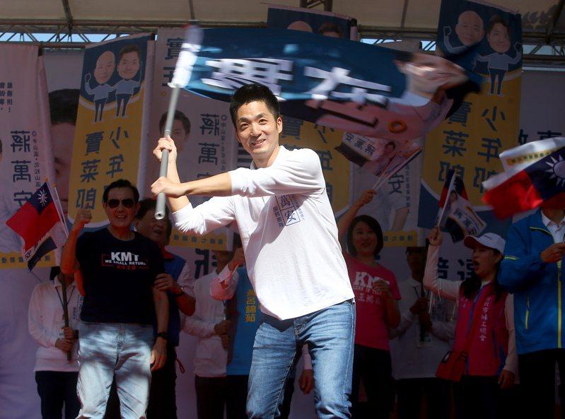 國民黨立委參選人蔣萬安競選總部今早成立。記者余承翰/攝影