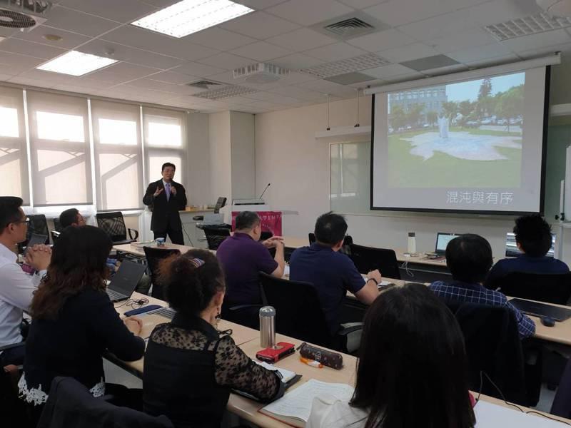 台中教育大學國際經營管理碩士在職專班打出省時省錢條件,向經理人招手。圖/台中教育大學提供